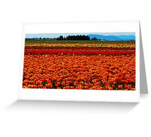 Beauty on Fire Greeting Card