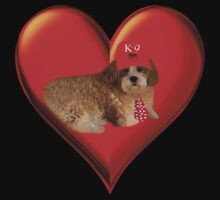 .♥➷♥•*K-9 LOVE VALENTINE (Lhasa Apso) TOTE BAG-PILLOW-DRAW STRING BAGS,NOTE BOOK-IPHONE COVER ECT.. .♥➷♥•* T-Shirt