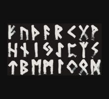 Runes - Elder Futhark - 0025 - Collected by wetdryvac