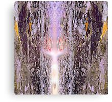 Sword in Stone Abstract Canvas Print