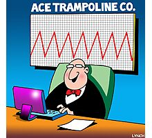 Ace trampoline co Photographic Print