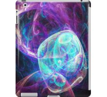 Alien Turquoise Purple iPad Case/Skin