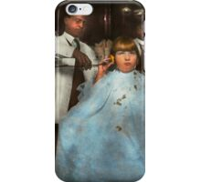 Barber - Portable music player 1921 iPhone Case/Skin