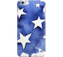 Stars Watercolor Abstract iPhone Case/Skin