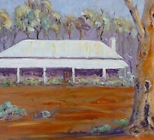 Old Cottage in Mintaro, Clare Valley. by Kay Cunningham