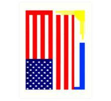 FILAM FLAG Art Print