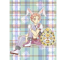 Yaku Morinosuke White Rabbit Photographic Print