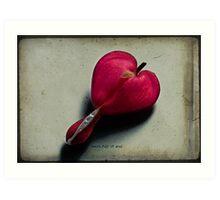 Heart full of soul Art Print