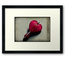 Heart full of soul Framed Print