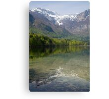 Reflections of the Julian Alps Canvas Print