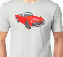 Triumph Tr4 Convertible Sports Car Unisex T-Shirt