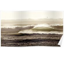 Marching Waves Poster
