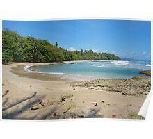 Costa Rica Caribbean beach Poster