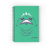 2 Little Monsters Spiral Notebook