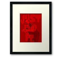 Shia Lebouf - Master of Motivation Framed Print