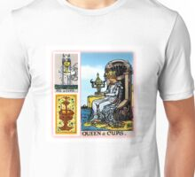 Queen of Cups - Classic (Rider Waite) Tarot Unisex T-Shirt
