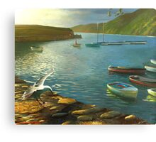 Clovelly - An English Fishing Village Canvas Print