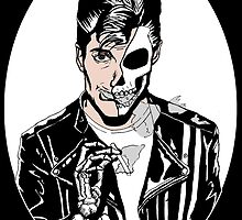 Alex Turner Skull Art by zombieCraig
