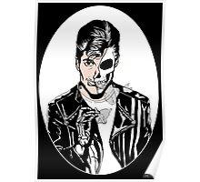 Alex Turner Skull Art Poster