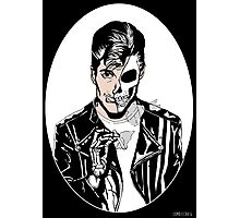 Alex Turner Skull Art Photographic Print