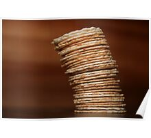 The Leaning Tower of Crackers Poster
