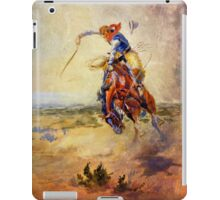 A Bad Hoss cowboy iPad Case/Skin