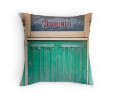 Vintage Passageway Throw Pillow