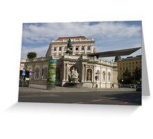 Albertina, Wien Österreich Greeting Card