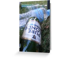 Mixing Drinks Greeting Card
