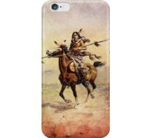 Nobleman of the Plains Indian iPhone Case/Skin