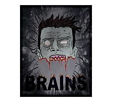 ZomBrains  Photographic Print