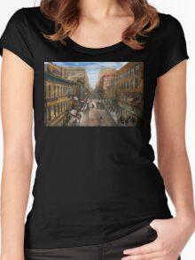 City - Kansas City MO - Petticoat Lane 1906 Women's Fitted Scoop T-Shirt