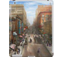 City - Kansas City MO - Petticoat Lane 1906 iPad Case/Skin