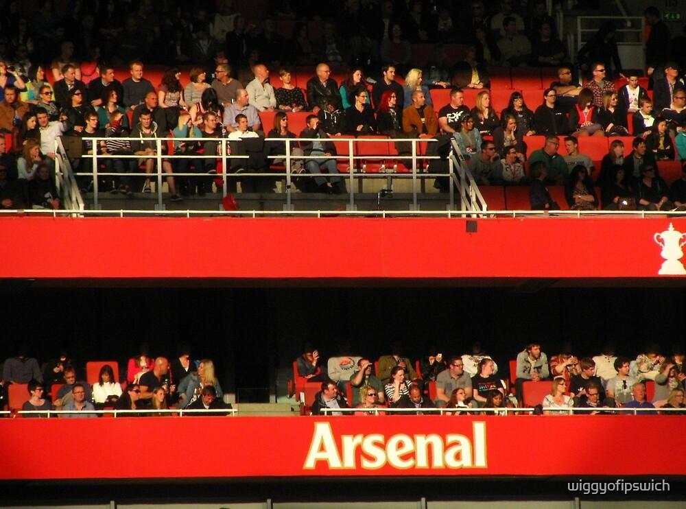 Arsenal Football Club by wiggyofipswich