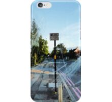 BUS STOP 1 iPhone Case/Skin