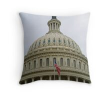 Capitol Dome Throw Pillow