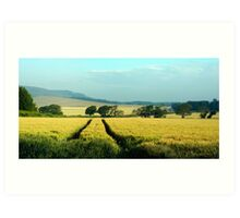 Early Morning Iford Art Print