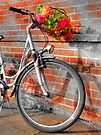 Bike and Flowers by Colin  Williams Photography