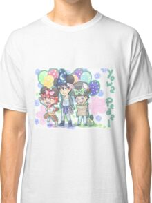 Yowamushi Pedal first years Classic T-Shirt