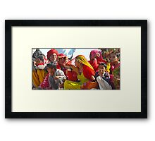 Candid Expressions,Rajasthan Framed Print