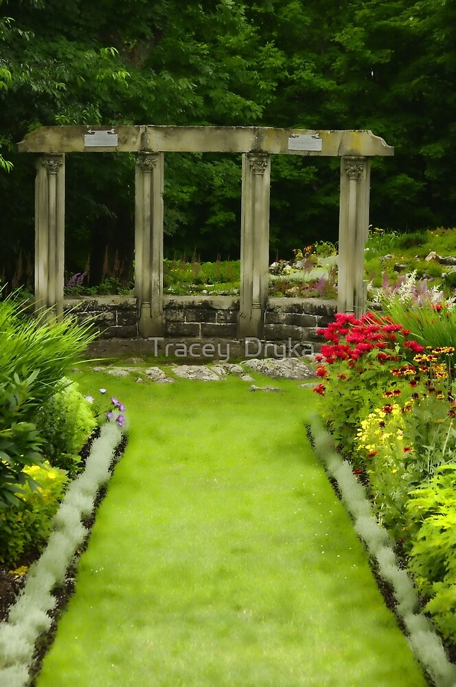 Manicured gardens -  by Tracey  Dryka