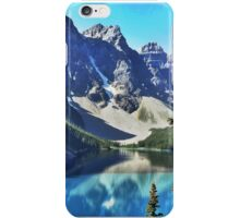 Lake Moraine, Banff iPhone Case/Skin