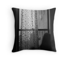 Waiting for the nothingness to go away... Throw Pillow