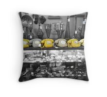 Dial Tone Throw Pillow