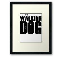 The Walking Dog Parody T Shirt Framed Print