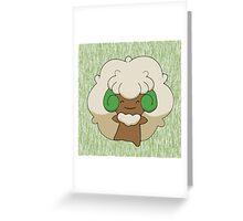 Whimsicott - Moss tree Greeting Card