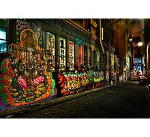 Hosier Lane Melbourne Photographic Print