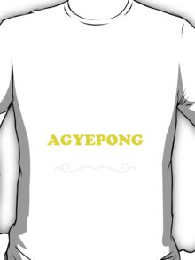 Keep Calm and Let AGYEPONG Handle it T-Shirt