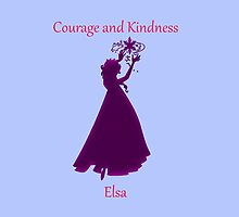 Courage and Kindness - Elsa by CoppersMama