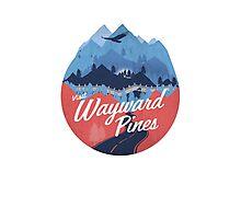 Visit Wayward Pines Photographic Print